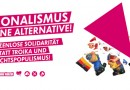 Antifa-Kampagne: Nationalismus ist keine Alternative!