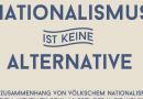 Gegen die Festung und ihre Fans: Nationalismus ist keine Alternative.