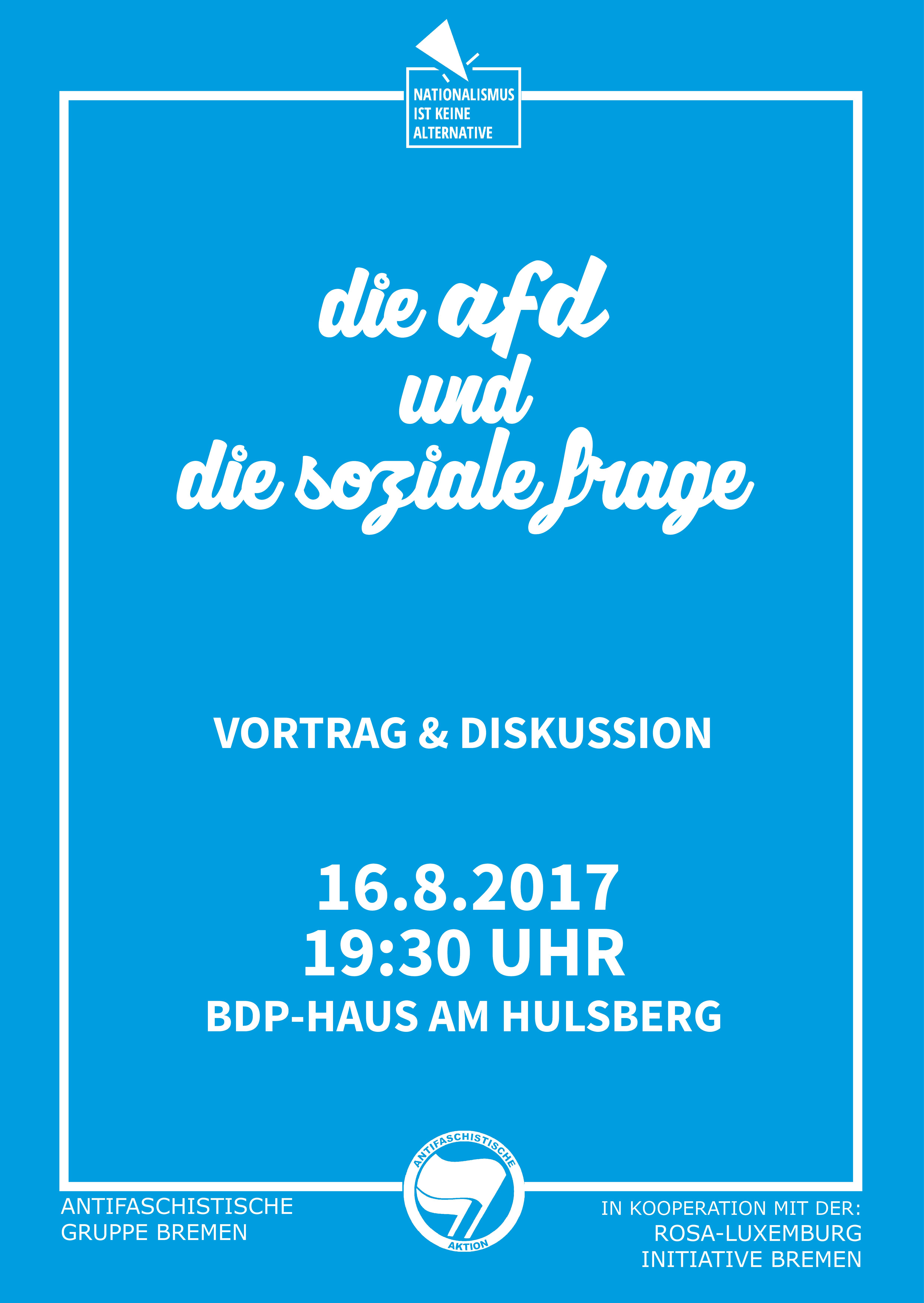 Die AfD und die soziale Frage @ BDP-Haus Bremen | Bremen | Bremen | Deutschland