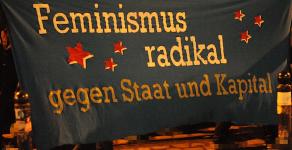 Unser Feminismus ist antinational!