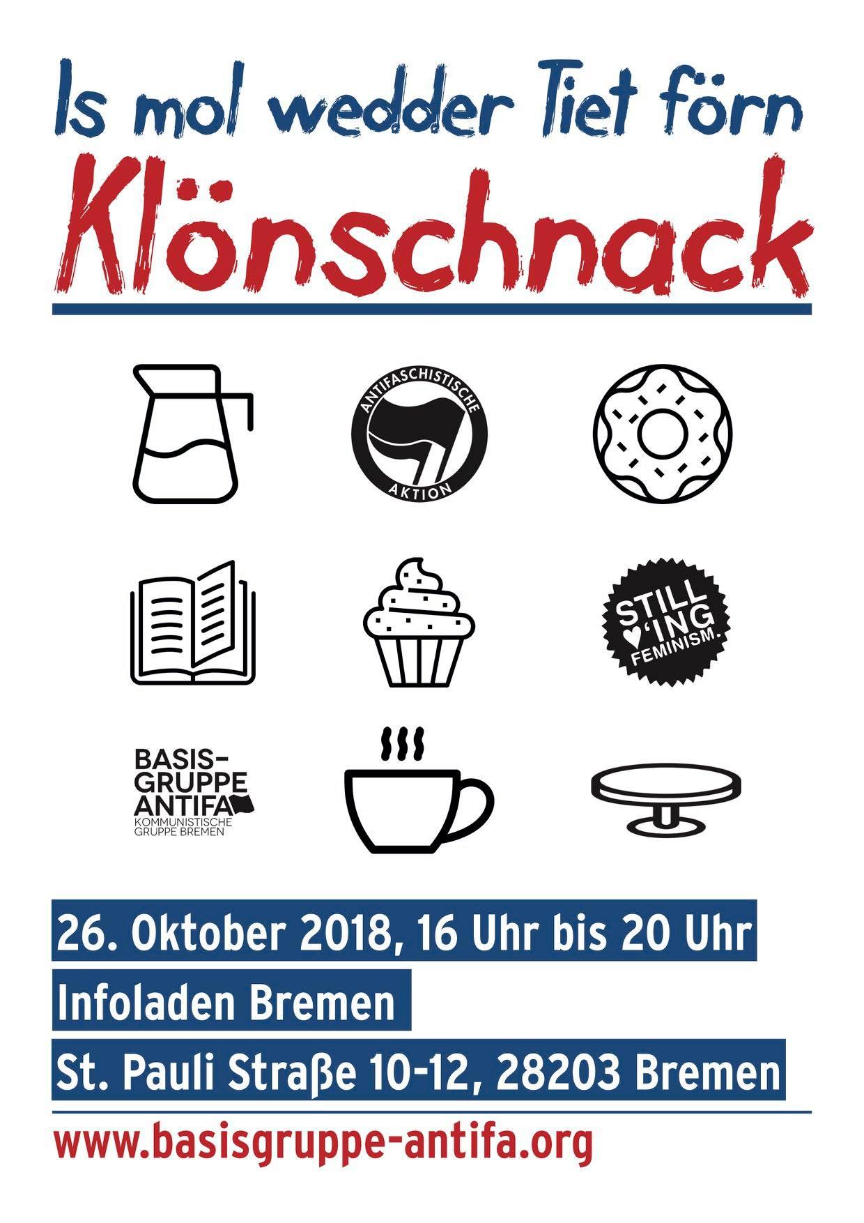 Klönschnack @ Infoladen Bremen | Bremen | Bremen | Deutschland
