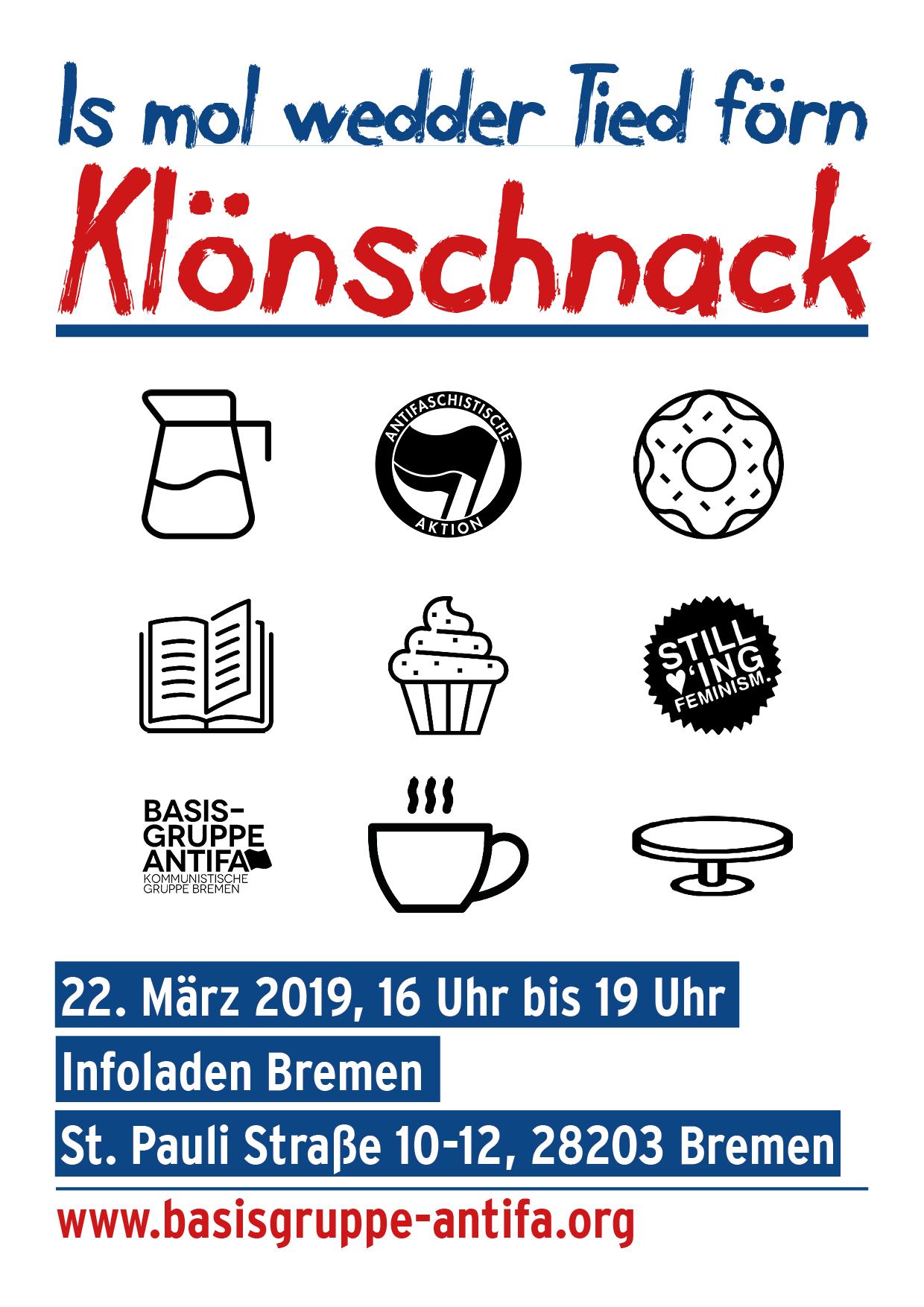 Is mol wedder Tied förn Klönschnack... @ Infoladen Bremen | Bremen | Bremen | Deutschland